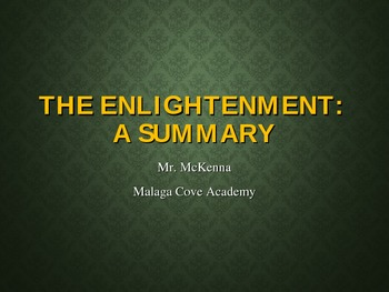 The Enlightenment - A Summary