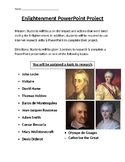 The Enlightenment/ Age of Reason Research Project