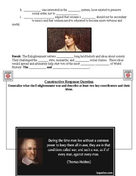 The Enlightenment Guided Lecture Notes