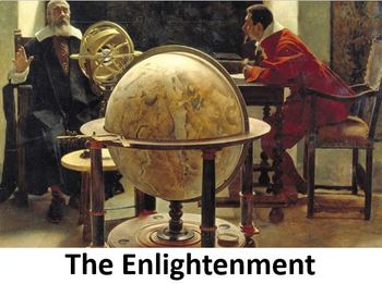 The Enlightenment Power Point with Printable Notes & Worksheet
