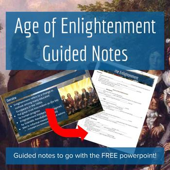 The Enlightenment PowerPoint - Guided Notes