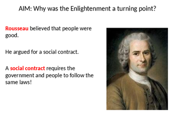 The Enlightenment PowerPoint Only