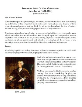 PROJECT: The Enlightenment: Primary Documents, Debate and Essay Prompt