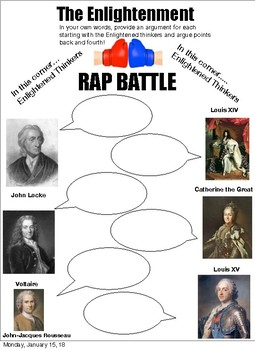 The Enlightenment : Rap two verisions