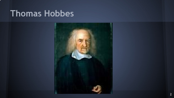 The Enlightenment - Thomas Hobbes
