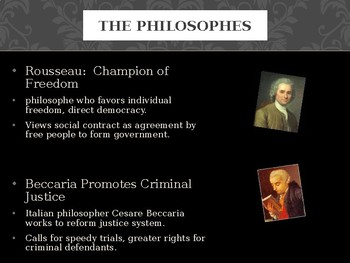 The Enlightenment and Revolution- Modern World History POWERPOINT