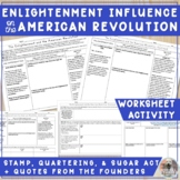 The Enlightenment Influence and the American Revolution -