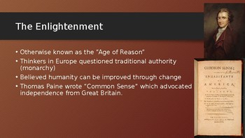 The Enlightenment and the Causes of the American Revolution