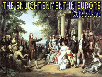 W22.2 + 22.3 - The Enlightenment - PowerPoint Notes