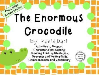 The Enormous Crocodile by Roald Dahl: A Complete Novel Study!