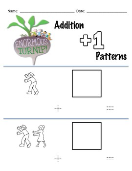 The Enormous Turnip +1 Addition Patterns