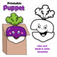 Enormous Turnip Craft Puppets