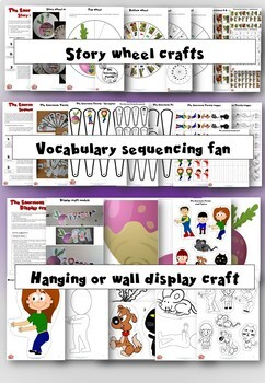 The Enormous Turnip - Activity Pack - Language learning through craft