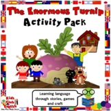 The Enormous Turnip - Activity Pack - Language learning th