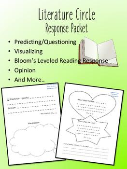 The Enormous Turnip Literature Circle Response Packet- Book Club!