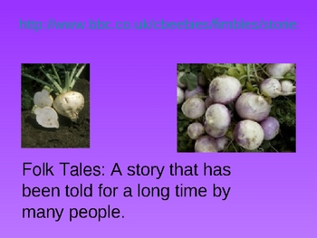 The Enormous Turnip Powerpoint