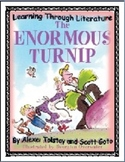 The Enormous Turnip: Reading Response Templates: Common Core Aligned