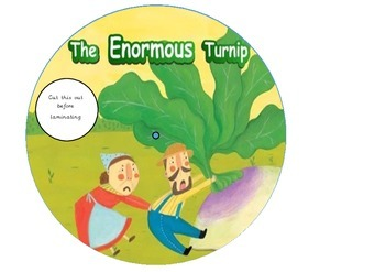 The Enormous Turnip Story Wheel