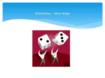 The Enormous Turnip Vocabulary PowerPoint