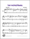 The Entertainer (Joplin) | Sheet Music for Easy Piano (Dig