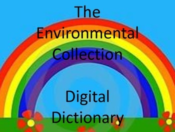 The Environmental Collection Digital Dictionary eBook (PDF)