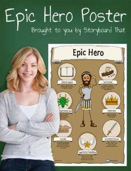 *Free Download* Epic Hero Poster for Your Classroom