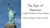 The Epic of America Excerpt Analysis