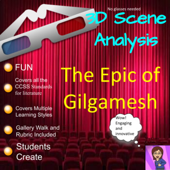 The Epic of Gilgamesh: 3D Scene Analysis Project Diorama: