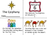 The Epiphany Mini Book and Coloring pages
