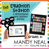 The Equation Station | Print + Digital | Distance Learning