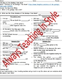 The Eras of The Geologic Time Scale Reading and Worksheet (Editable)