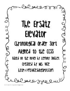 The Ersatz Elevator Chronological Order Sort