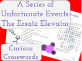 The Ersatz Elevator- Worksheet (Book 6 Series of Unfortunate Events)