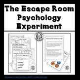 Escape Room Psychology Experiment