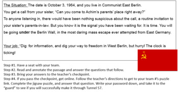 The Escape from East Berlin