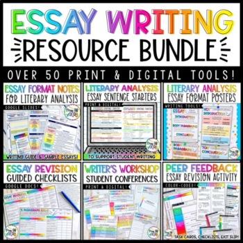 The Essay Writer's Toolkit- Bundle!