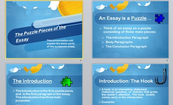 Writing the Essay 101: Essay Writing Basics & Structure -PowerPoint Presentation