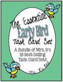 The Essential Early Bird Task Cards Bundle for Upper Eleme