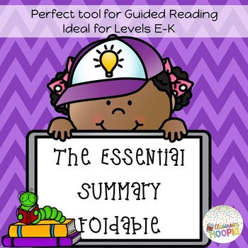 The Essential Summary Foldable