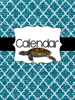 The Essential Teacher Binder - Sea Turtles!