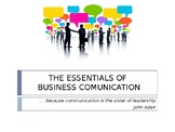 The Essentials of Business Communication