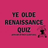 The European Renaissance: Quiz