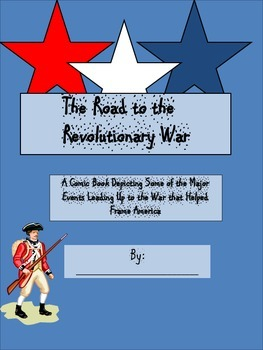 The Events Leading Up To The Revolutionary War Comic Book Template