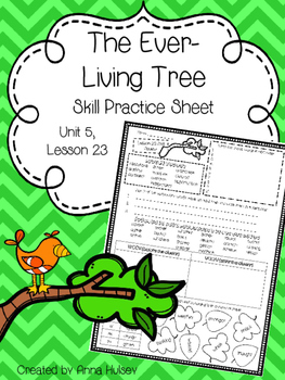The Ever-Living Tree (Skill Practice Sheet)
