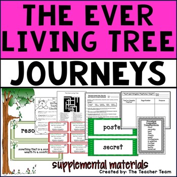 The Ever Living Tree Journeys 4th Grade Unit 5 Lesson 23 Activities & Printables