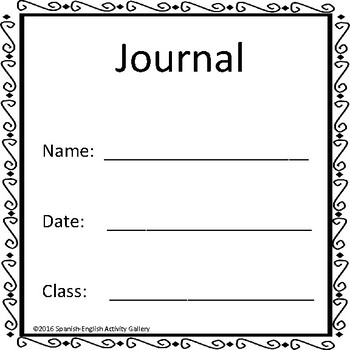 Journal for Secondary Students