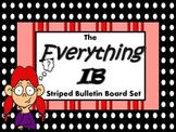 The Everything IB Striped Bulletin Board Set