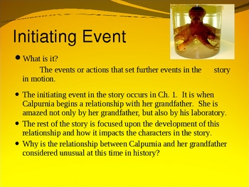 """The Evolution of Calpurnia Tate"": Interactive Novel PowerPoint"