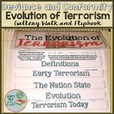 The Evolution of Terrorism Gallery Walk and Flipbook