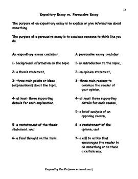 The Exceptional 5-Paragraph Essay - Unit Resources
